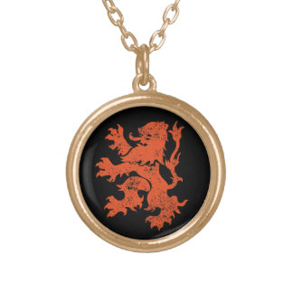Netherlands Lion Necklaces