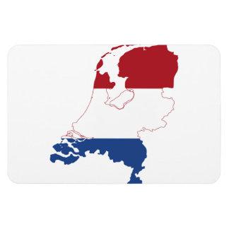 NETHERLANDS MAP RECTANGULAR MAGNETS