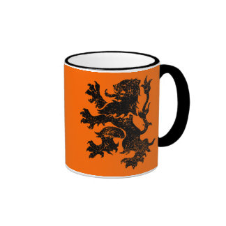 Netherlands Ringer Coffee Mug