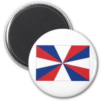 Netherlands Naval Jack 6 Cm Round Magnet