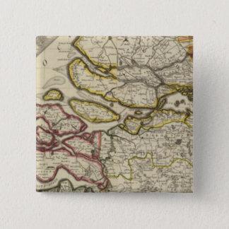 Netherlands north 15 cm square badge