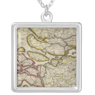 Netherlands north silver plated necklace