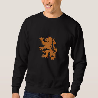 Netherlands Rampant Lion Dutch Oranje Holland Embroidered Sweatshirt