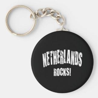 Netherlands Rocks Keychains