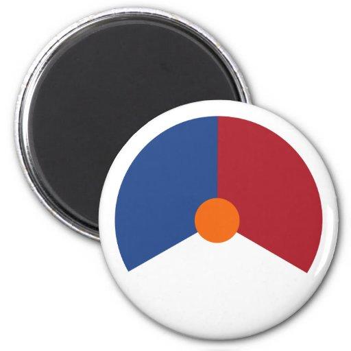 Netherlands roundel, Netherlands Refrigerator Magnet