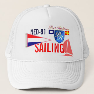 Netherlands Sailing FRL-91 Nautical Trucker Hat