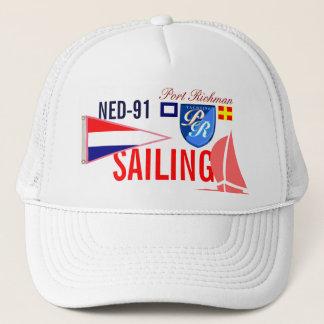 Netherlands Sailing FRL-91 Nautical Trucker Hat