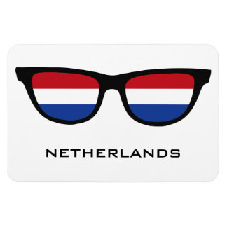 Netherlands Shades custom text & color magnet