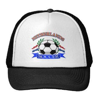 Netherlands soccer ball designs cap