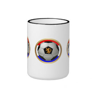 Netherlands Soccer Ball with Dutch Lion Mug