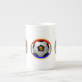 Netherlands Soccer Ball with Dutch Lion Tea Cup
