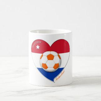 Netherlands soccer. NEDERLAND national soccer team Basic White Mug
