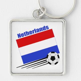 Netherlands Soccer Team Keychains