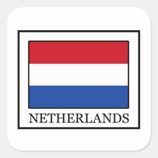 Netherlands Square Sticker