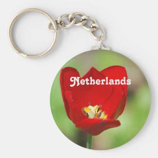 Netherlands Tulips Keychain