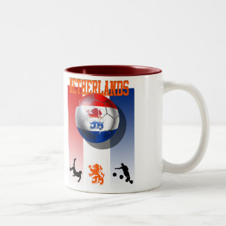 Netherlands Voetbal Poster Dutch soccer gifts Mugs
