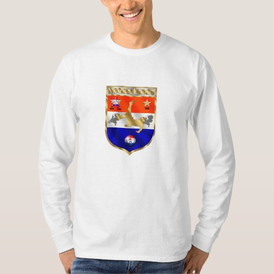 Netherlands  voetbal Shield soccer team tees