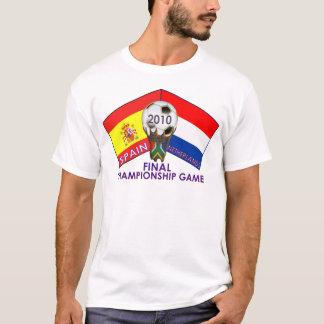 Netherlands vs. Spain 2010 Soccer T-Shirt