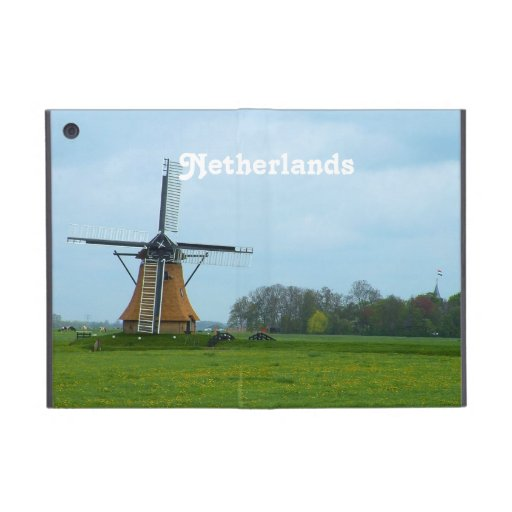 Netherlands Windmill iPad Mini Covers