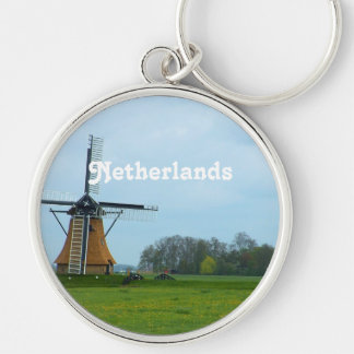 Netherlands Windmill Key Chain
