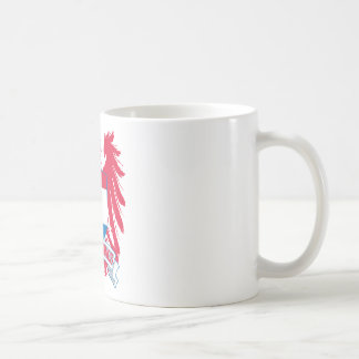 Netherlands Winged Basic White Mug