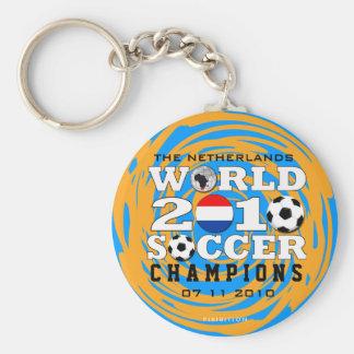 Netherlands World Cup 2010 Champions Keychain