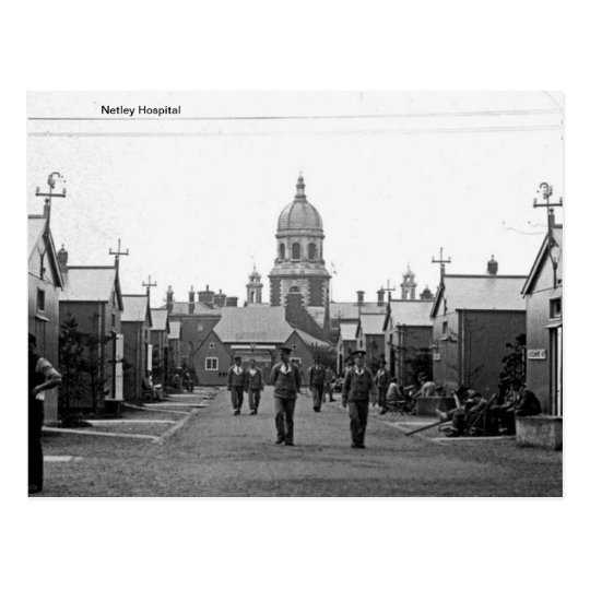 Netley Royal Victoria Hospital - Hampshire Postcard