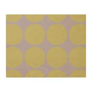 Netted Circle Pattern tan Wood Canvases