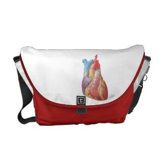 Netter Heart Messenger Bag