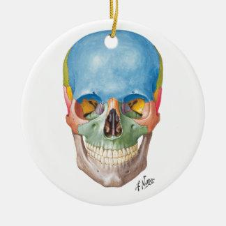 Netter Skull for your Christmas Tree Christmas Ornament