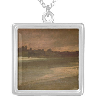 Nettuno, Evening on the Beach Silver Plated Necklace