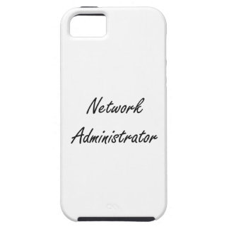 Network Administrator Artistic Job Design iPhone 5 Cover
