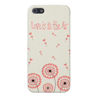 Network dandelions heart-shaped petals Iphone 5 ma Case For The iPhone 5