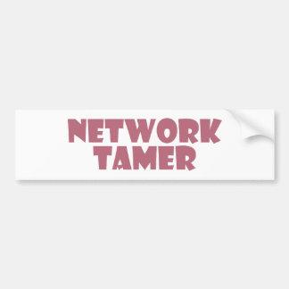 network tamer auto sticker