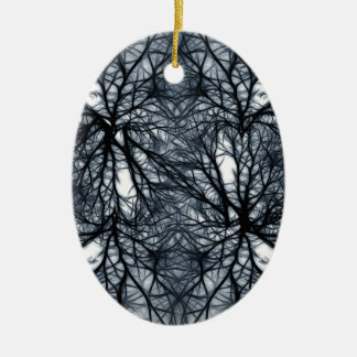 Networking Ceramic Oval Decoration