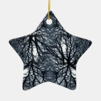 Networking Ceramic Star Decoration