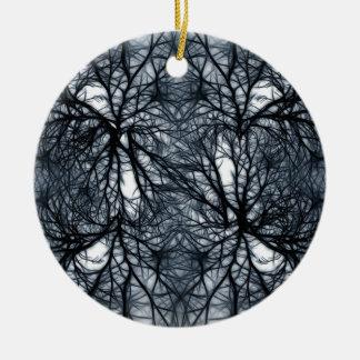 Networking Round Ceramic Decoration
