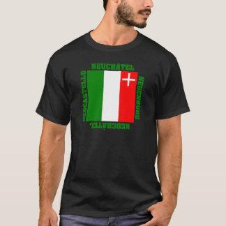 Neuchatel Switzerland Canton Flag T-Shirt