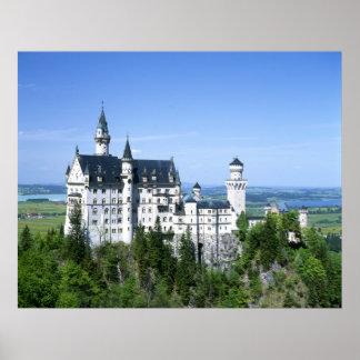 Neuchwanstein Castle Bavaria Poster