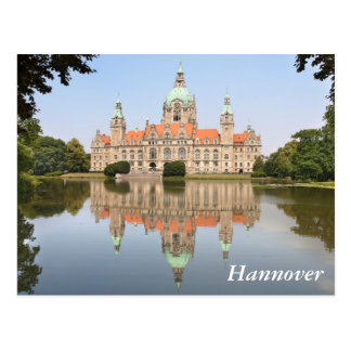 Neues Rathaus in Hannover Postcard