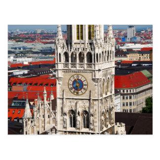 Neues Rathaus Munich Postcard