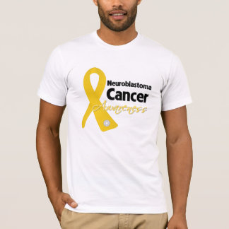 Neuroblastoma Cancer Awareness Ribbon T-Shirt