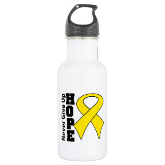 Neuroblastoma Cancer Hope Never Give Up 532 Ml Water Bottle