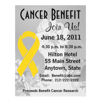 Neuroblastoma Cancer Personalised Benefit Flyer