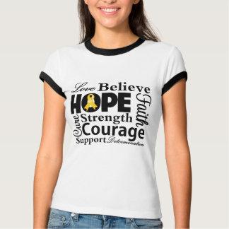 Neuroblastoma Collage of Hope T-Shirt