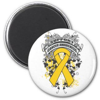 Neuroblastoma - Cool Support Awareness Slogan Magnets
