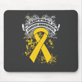Neuroblastoma - Cool Support Awareness Slogan Mousepads