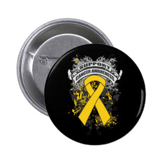 Neuroblastoma - Cool Support Awareness Slogan Pins