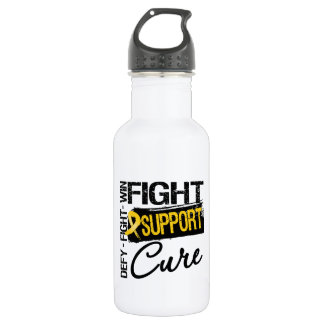 Neuroblastoma Fight Support Cure 532 Ml Water Bottle
