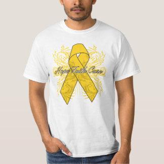 Neuroblastoma Flourish Hope Faith Cure T-Shirt